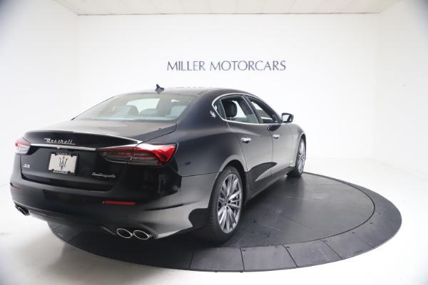 New 2021 Maserati Quattroporte S Q4 GranLusso for sale $129,135 at Rolls-Royce Motor Cars Greenwich in Greenwich CT 06830 6