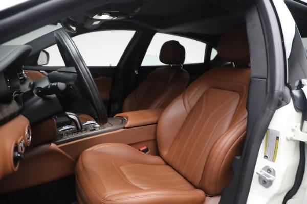 New 2021 Maserati Quattroporte S Q4 GranLusso for sale $120,599 at Rolls-Royce Motor Cars Greenwich in Greenwich CT 06830 13