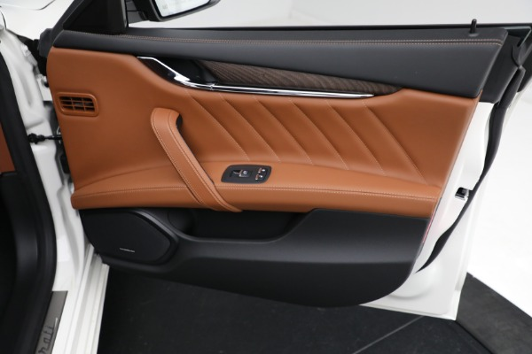 New 2021 Maserati Quattroporte S Q4 GranLusso for sale $120,599 at Rolls-Royce Motor Cars Greenwich in Greenwich CT 06830 20