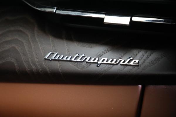 New 2021 Maserati Quattroporte S Q4 GranLusso for sale $120,599 at Rolls-Royce Motor Cars Greenwich in Greenwich CT 06830 22