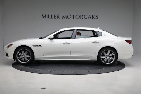 New 2021 Maserati Quattroporte S Q4 GranLusso for sale $120,599 at Rolls-Royce Motor Cars Greenwich in Greenwich CT 06830 3