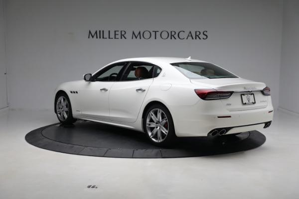 New 2021 Maserati Quattroporte S Q4 GranLusso for sale $120,599 at Rolls-Royce Motor Cars Greenwich in Greenwich CT 06830 5