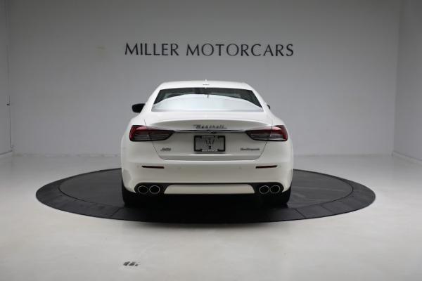 New 2021 Maserati Quattroporte S Q4 GranLusso for sale $120,599 at Rolls-Royce Motor Cars Greenwich in Greenwich CT 06830 6
