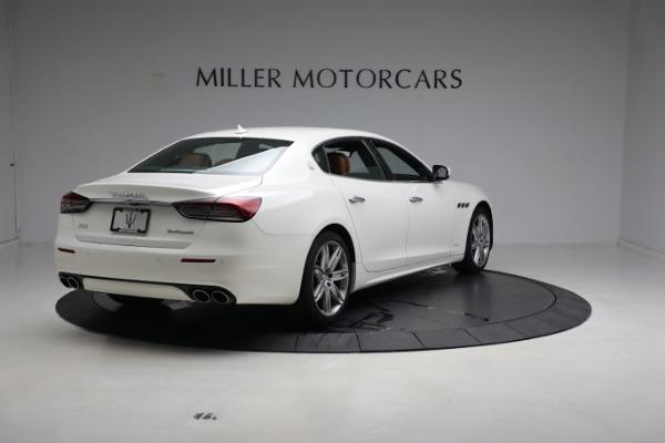New 2021 Maserati Quattroporte S Q4 GranLusso for sale $120,599 at Rolls-Royce Motor Cars Greenwich in Greenwich CT 06830 7