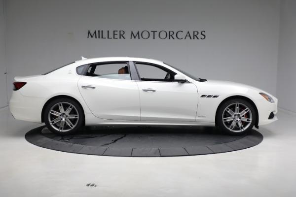 New 2021 Maserati Quattroporte S Q4 GranLusso for sale $120,599 at Rolls-Royce Motor Cars Greenwich in Greenwich CT 06830 9