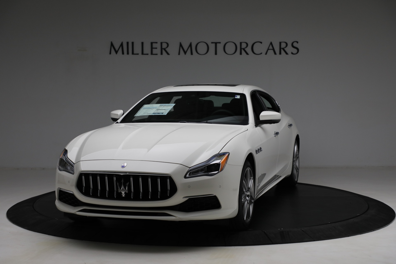 New 2021 Maserati Quattroporte S Q4 GranLusso for sale $120,599 at Rolls-Royce Motor Cars Greenwich in Greenwich CT 06830 1