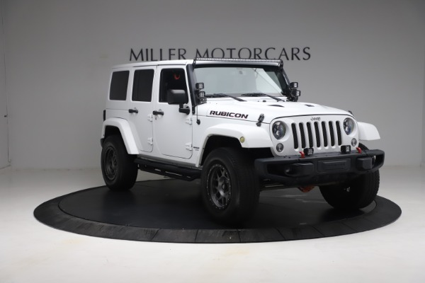 Used 2015 Jeep Wrangler Unlimited Rubicon Hard Rock for sale $39,900 at Rolls-Royce Motor Cars Greenwich in Greenwich CT 06830 11
