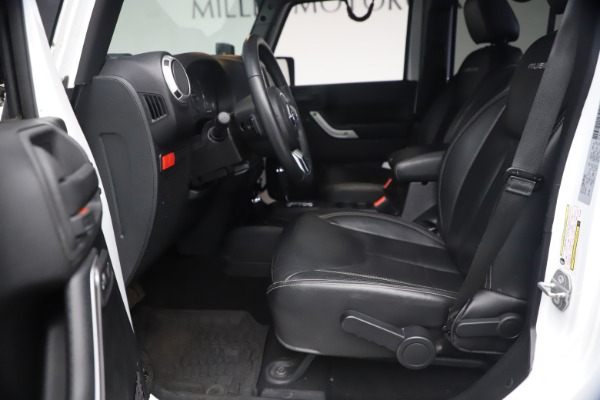 Used 2015 Jeep Wrangler Unlimited Rubicon Hard Rock for sale $39,900 at Rolls-Royce Motor Cars Greenwich in Greenwich CT 06830 15
