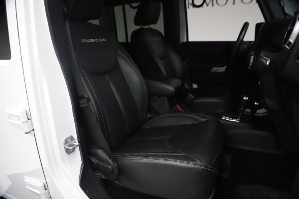 Used 2015 Jeep Wrangler Unlimited Rubicon Hard Rock for sale $39,900 at Rolls-Royce Motor Cars Greenwich in Greenwich CT 06830 19