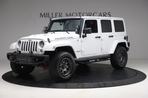 Used 2015 Jeep Wrangler Unlimited Rubicon Hard Rock for sale $39,900 at Rolls-Royce Motor Cars Greenwich in Greenwich CT 06830 2