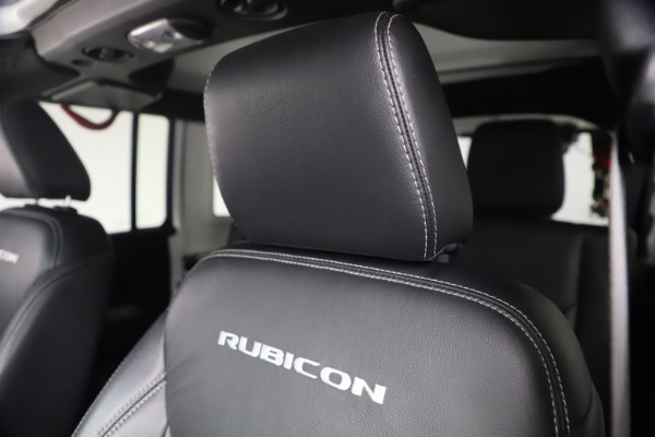 Used 2015 Jeep Wrangler Unlimited Rubicon Hard Rock for sale $39,900 at Rolls-Royce Motor Cars Greenwich in Greenwich CT 06830 26
