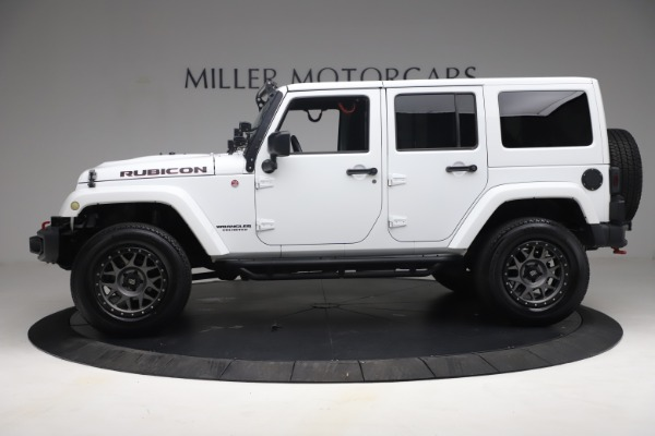 Used 2015 Jeep Wrangler Unlimited Rubicon Hard Rock for sale $39,900 at Rolls-Royce Motor Cars Greenwich in Greenwich CT 06830 3