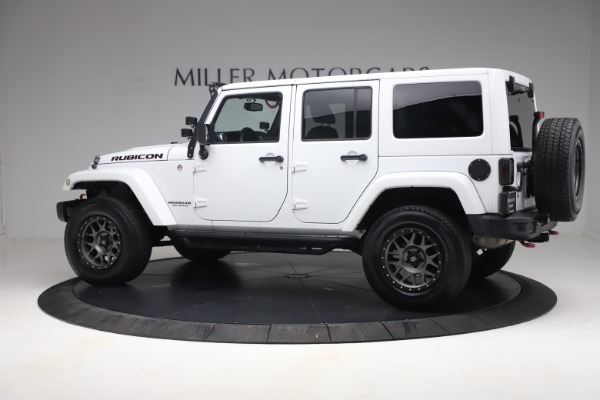 Used 2015 Jeep Wrangler Unlimited Rubicon Hard Rock for sale $39,900 at Rolls-Royce Motor Cars Greenwich in Greenwich CT 06830 4