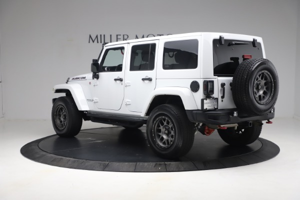 Used 2015 Jeep Wrangler Unlimited Rubicon Hard Rock for sale $39,900 at Rolls-Royce Motor Cars Greenwich in Greenwich CT 06830 5