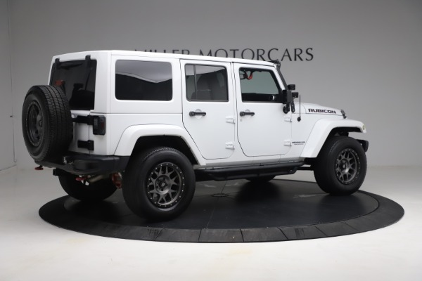 Used 2015 Jeep Wrangler Unlimited Rubicon Hard Rock for sale $39,900 at Rolls-Royce Motor Cars Greenwich in Greenwich CT 06830 8