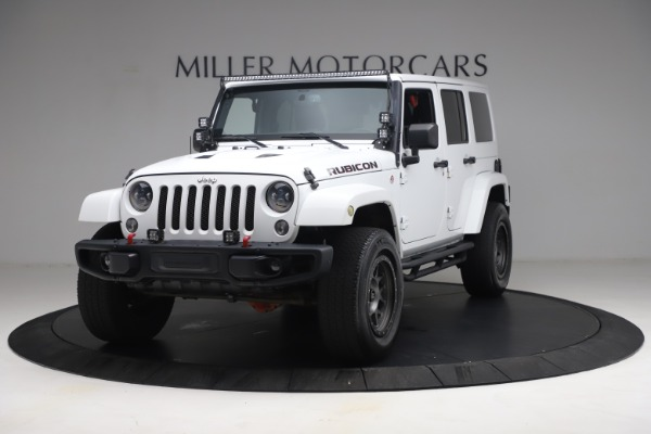 Used 2015 Jeep Wrangler Unlimited Rubicon Hard Rock for sale $39,900 at Rolls-Royce Motor Cars Greenwich in Greenwich CT 06830 1