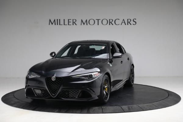 New 2021 Alfa Romeo Giulia Quadrifoglio for sale $81,505 at Rolls-Royce Motor Cars Greenwich in Greenwich CT 06830 1