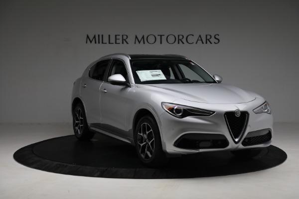 New 2021 Alfa Romeo Stelvio Ti Q4 for sale $50,505 at Rolls-Royce Motor Cars Greenwich in Greenwich CT 06830 11