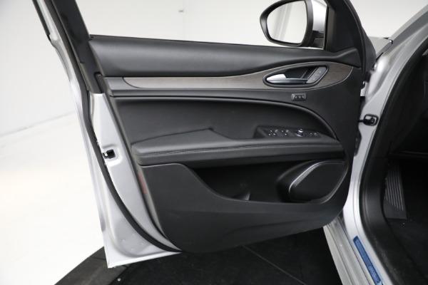 New 2021 Alfa Romeo Stelvio Ti Q4 for sale $50,505 at Rolls-Royce Motor Cars Greenwich in Greenwich CT 06830 12