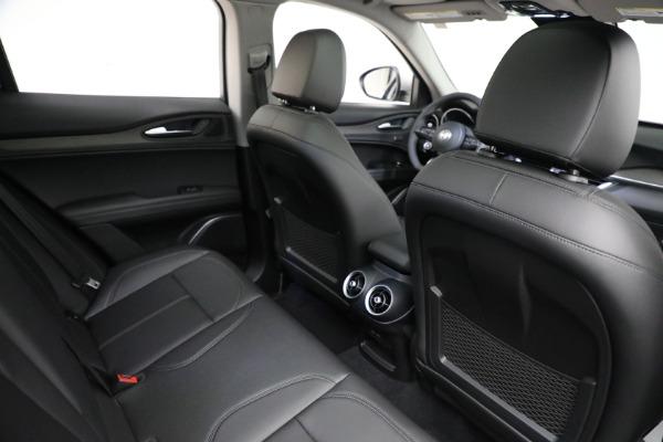 New 2021 Alfa Romeo Stelvio Ti Q4 for sale $50,505 at Rolls-Royce Motor Cars Greenwich in Greenwich CT 06830 17