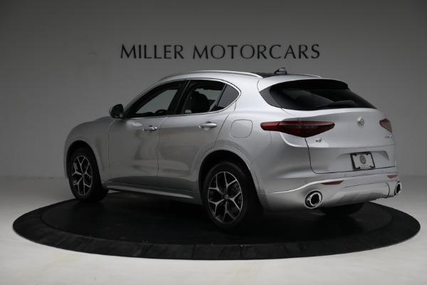 New 2021 Alfa Romeo Stelvio Ti Q4 for sale $50,505 at Rolls-Royce Motor Cars Greenwich in Greenwich CT 06830 5