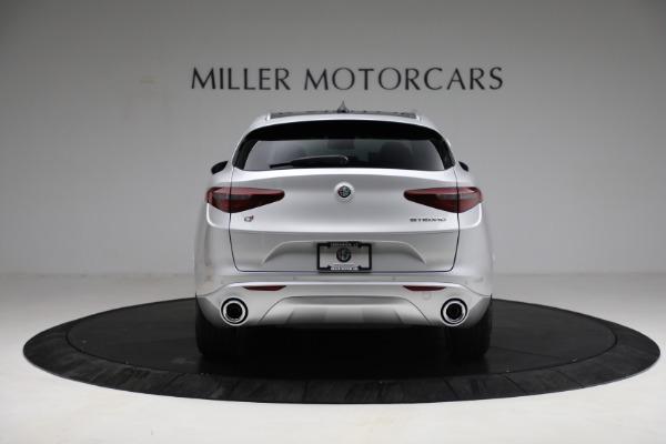 New 2021 Alfa Romeo Stelvio Ti Q4 for sale $50,505 at Rolls-Royce Motor Cars Greenwich in Greenwich CT 06830 6