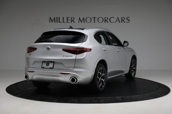 New 2021 Alfa Romeo Stelvio Ti Q4 for sale $50,505 at Rolls-Royce Motor Cars Greenwich in Greenwich CT 06830 7