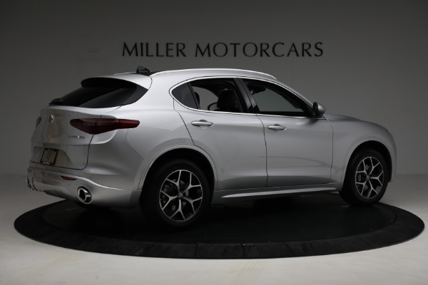 New 2021 Alfa Romeo Stelvio Ti Q4 for sale $50,505 at Rolls-Royce Motor Cars Greenwich in Greenwich CT 06830 8