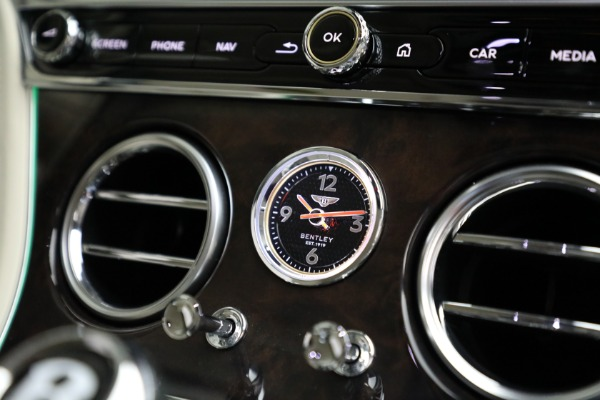 Used 2020 Bentley Continental GT W12 for sale Call for price at Rolls-Royce Motor Cars Greenwich in Greenwich CT 06830 27