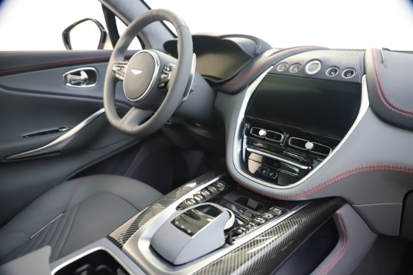 New 2021 Aston Martin DBX for sale $210,786 at Rolls-Royce Motor Cars Greenwich in Greenwich CT 06830 20