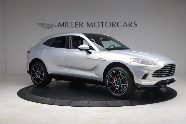 New 2021 Aston Martin DBX for sale $210,786 at Rolls-Royce Motor Cars Greenwich in Greenwich CT 06830 9