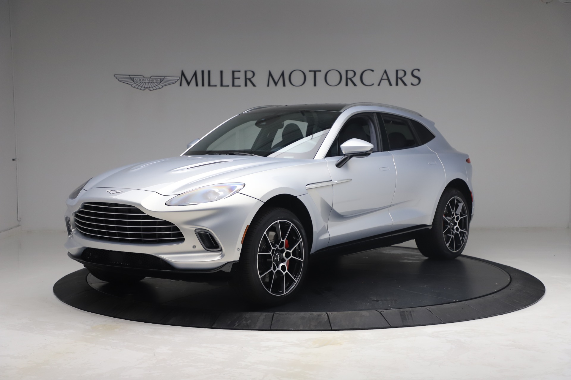 New 2021 Aston Martin DBX for sale $210,786 at Rolls-Royce Motor Cars Greenwich in Greenwich CT 06830 1