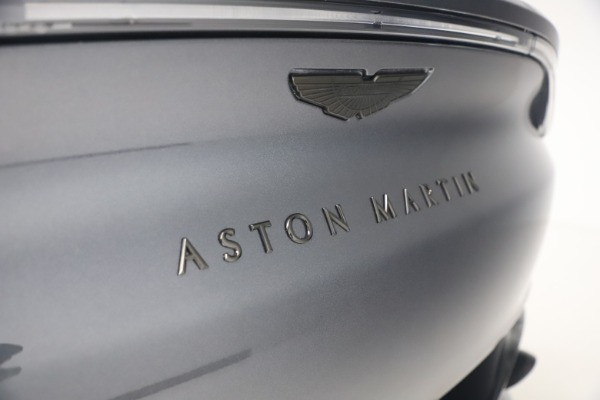 New 2021 Aston Martin DBX for sale $208,786 at Rolls-Royce Motor Cars Greenwich in Greenwich CT 06830 22