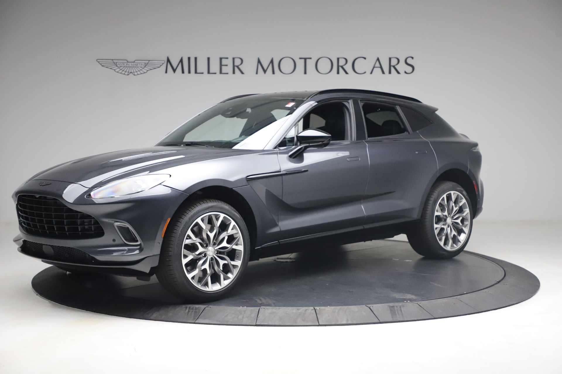 New 2021 Aston Martin DBX for sale $208,786 at Rolls-Royce Motor Cars Greenwich in Greenwich CT 06830 1