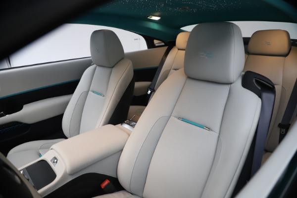 Used 2021 Rolls-Royce Wraith KRYPTOS for sale $444,275 at Rolls-Royce Motor Cars Greenwich in Greenwich CT 06830 14