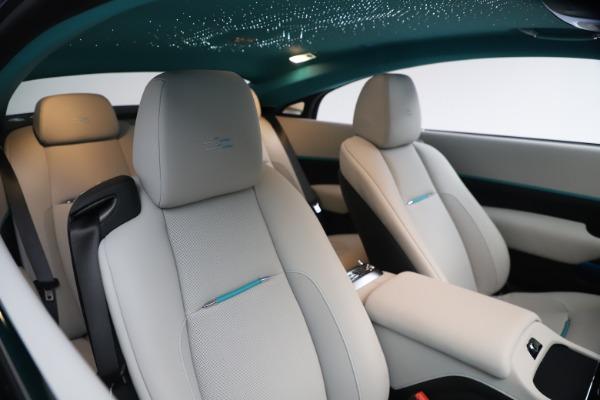 Used 2021 Rolls-Royce Wraith KRYPTOS for sale $444,275 at Rolls-Royce Motor Cars Greenwich in Greenwich CT 06830 15