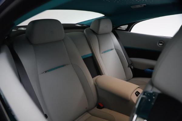 Used 2021 Rolls-Royce Wraith KRYPTOS for sale $444,275 at Rolls-Royce Motor Cars Greenwich in Greenwich CT 06830 18