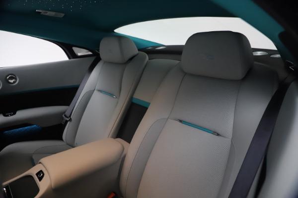 Used 2021 Rolls-Royce Wraith KRYPTOS for sale $444,275 at Rolls-Royce Motor Cars Greenwich in Greenwich CT 06830 19