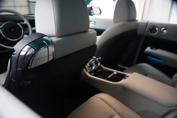 Used 2021 Rolls-Royce Wraith KRYPTOS for sale $444,275 at Rolls-Royce Motor Cars Greenwich in Greenwich CT 06830 20