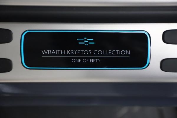 Used 2021 Rolls-Royce Wraith KRYPTOS for sale $444,275 at Rolls-Royce Motor Cars Greenwich in Greenwich CT 06830 22