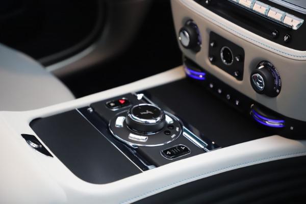 Used 2021 Rolls-Royce Wraith KRYPTOS for sale $444,275 at Rolls-Royce Motor Cars Greenwich in Greenwich CT 06830 25