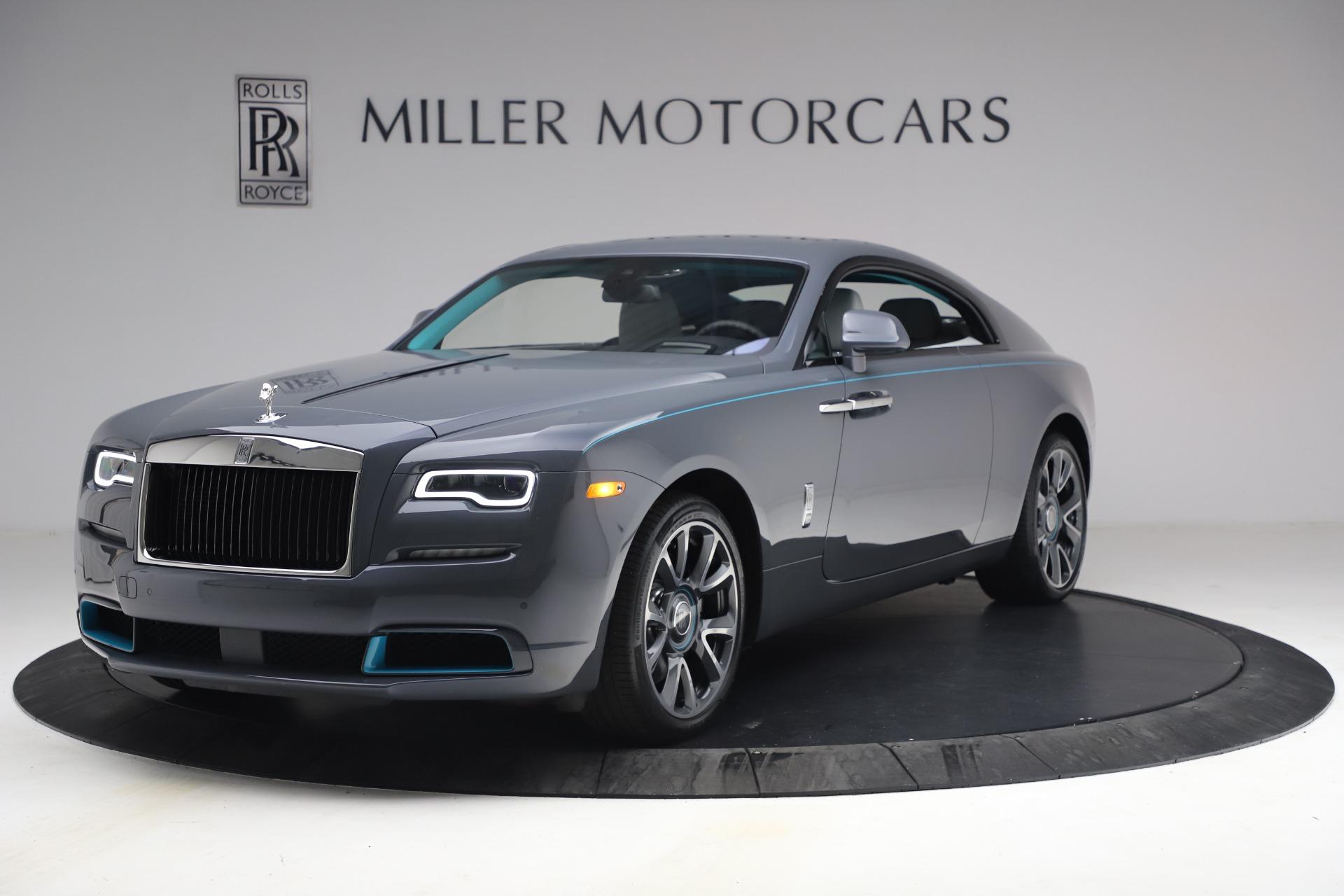 Used 2021 Rolls-Royce Wraith KRYPTOS for sale $444,275 at Rolls-Royce Motor Cars Greenwich in Greenwich CT 06830 1