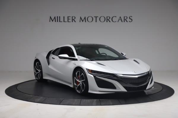 Used 2017 Acura NSX SH-AWD Sport Hybrid for sale $139,900 at Rolls-Royce Motor Cars Greenwich in Greenwich CT 06830 11