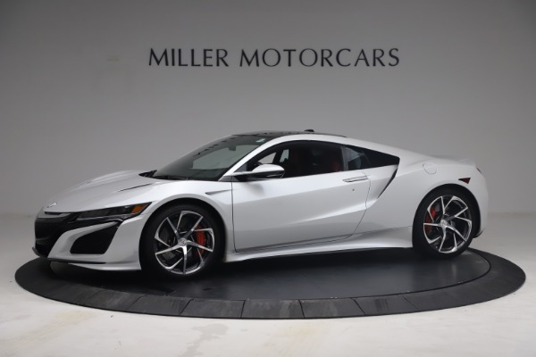Used 2017 Acura NSX SH-AWD Sport Hybrid for sale $139,900 at Rolls-Royce Motor Cars Greenwich in Greenwich CT 06830 2