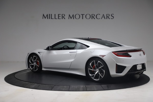 Used 2017 Acura NSX SH-AWD Sport Hybrid for sale $139,900 at Rolls-Royce Motor Cars Greenwich in Greenwich CT 06830 4