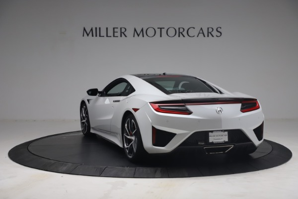 Used 2017 Acura NSX SH-AWD Sport Hybrid for sale $139,900 at Rolls-Royce Motor Cars Greenwich in Greenwich CT 06830 5