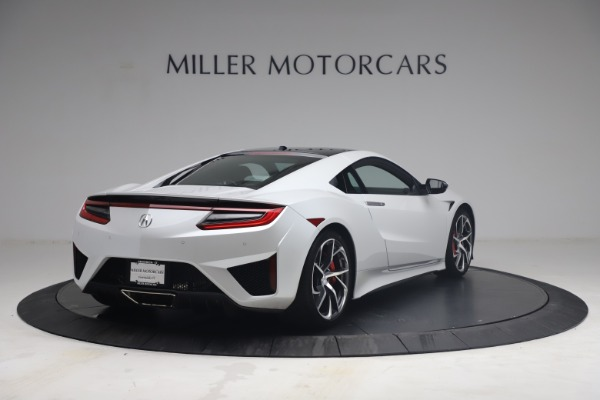 Used 2017 Acura NSX SH-AWD Sport Hybrid for sale $139,900 at Rolls-Royce Motor Cars Greenwich in Greenwich CT 06830 7