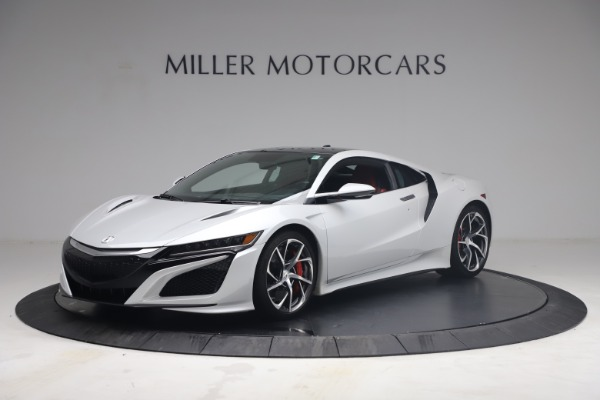 Used 2017 Acura NSX SH-AWD Sport Hybrid for sale $139,900 at Rolls-Royce Motor Cars Greenwich in Greenwich CT 06830 1