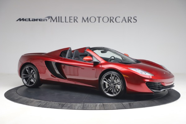 Used 2013 McLaren MP4-12C Spider for sale $134,900 at Rolls-Royce Motor Cars Greenwich in Greenwich CT 06830 10