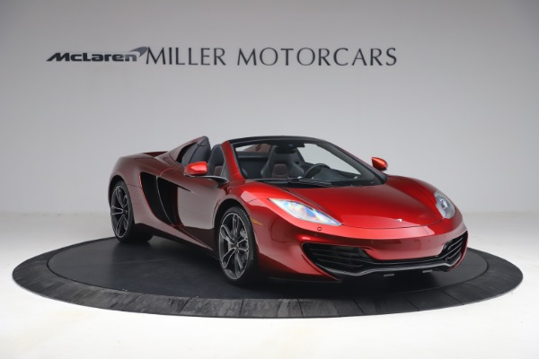 Used 2013 McLaren MP4-12C Spider for sale $134,900 at Rolls-Royce Motor Cars Greenwich in Greenwich CT 06830 11